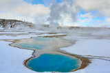 Colloidal Geothermal Pool In Yellowstone National Park - 233428193