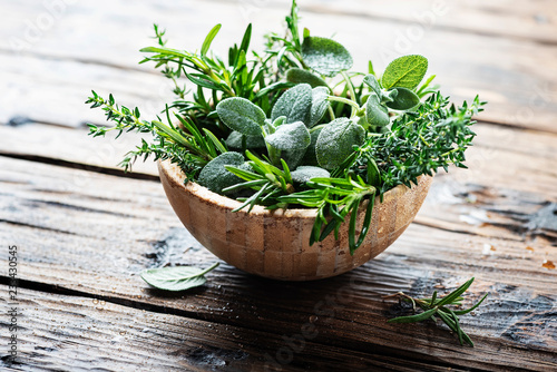 Mix of herbs