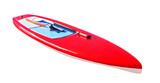 Board for stand up paddle surfing (SUP) isolated on white background. Sport equipment - 233437911