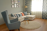 The living room in the Scandinavian style - 233439932