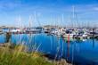Sailboats in the harbor of Howth near Dublin, Ireland - 233445987