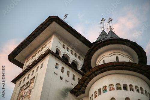 Cathedral Nasterea Maicii Domnului from Gura Humorului , Romania