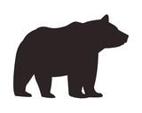 wild bear body  cartoon