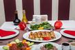 Turkish cuisine Freshly Grilled Lamb Chops. - 233459527