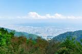 六甲山から見る神戸