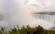 Niagara Falls: Horseshoe falls with mist