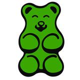 Green Gummy Bear - 233486968