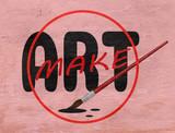 make art design on wood grain texture - 233487961