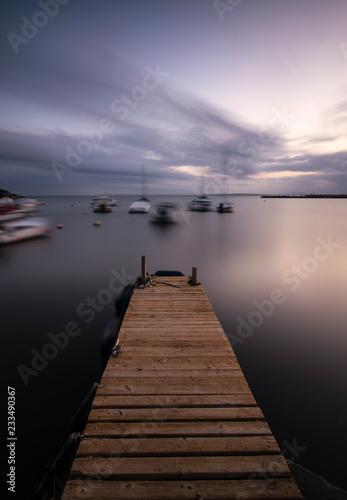 Acrylglas Pier Puerto de Santa Pola