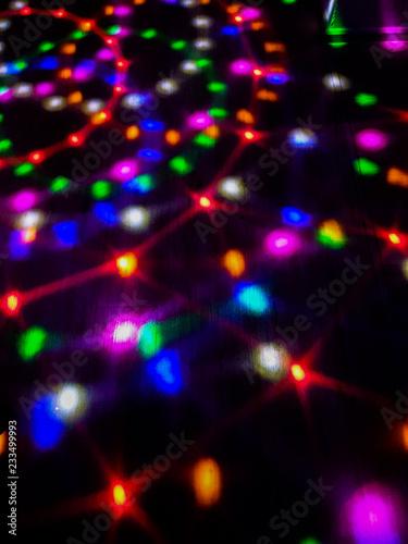 disco light on dance floor. - 233499993