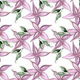 Autumn flowers, seamless pattern - 233504764