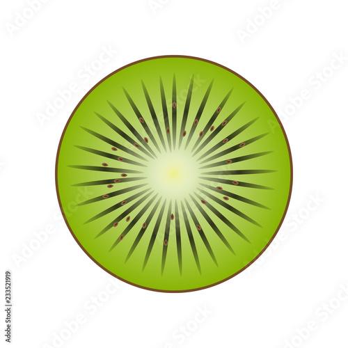abstract kiwi fruit - 233521919