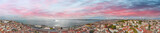 Panoramic aerial view of Lisbon cityscape and port, Portugal - 233530162