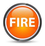 Fire galaxy orange round button - 233533133