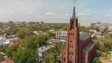 Aerial view of Savannah skyline from city center, Georgia - 233541178