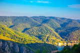 mountains landscape with green forest in Serbia - 233549799