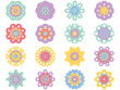 Flower icon in EPS10 vector format isolated - 233557724