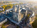 Aerial view on Tours Cathedral - 233560572