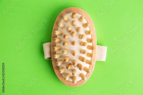 Leinwanddruck Bild brush shower massager