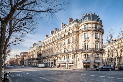 fototapeta na ścianę Boulevard Haussmann in Paris, Frankreich