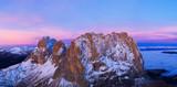 Beautiful Dolomites peaks panoramic view - 233565396