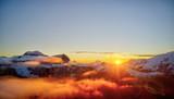 Beautiful Dolomites peaks panoramic view - 233565519