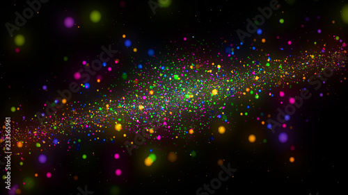 Galaxy abstract background color - 233565961