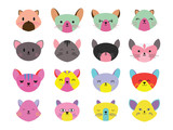 Mouse icon in EPS10 vector format isolated