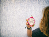 Woman With Exotic Fruit