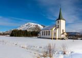 Pfarrkirche von Valberg auf den Lofoten - 233579584