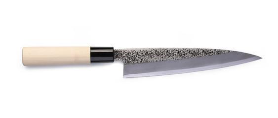 Stainless steel santoku knife © Gresei