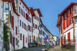 Street in  Espelette, Pyrenees-Atlantiques, France - 233584902