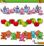 counting to ten activity for preschool kids - 233589781