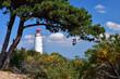 canvas print picture - Leuchtturm auf Hiddensee
