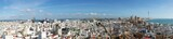 Panorama of Cádiz from the top of Torre Tavira