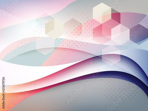 abstrakcyjne geometryczne tło