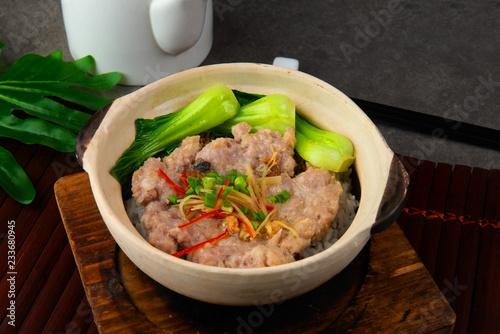 claypot pork rice ,chinese foods