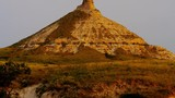 Chimney Rock Nebraska at sunrise USA - 233696906