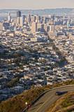 San Francisco as seen from Twin Peaks