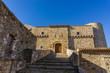 Quadro Civitacampomarano CB, castello Angioino