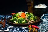 Handmade cauliflower vegetables on table