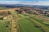 Luftaufnahme Herbstlandschaft im Burgenland (A) - 233793332