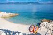 Kroatien, Istrien, Rabac, Strand