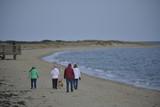 Family on Beach, Cape Cod