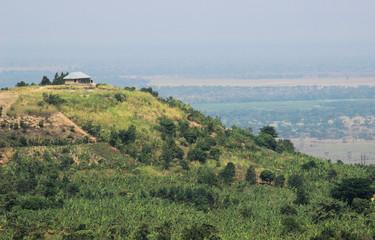 Great Rift Valley in Uganda. Africa landscare