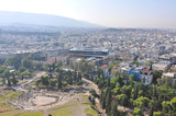 Ariel view of Athens , Greece  - 233907140