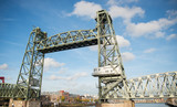 the old railraod bridge in Rotterdam © compuinfoto