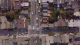 Aerial Overhead View of San Francisco Street - 233940145