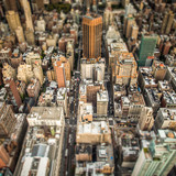 Top view of New York City © ikostudio