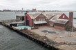 Wharf in Boston